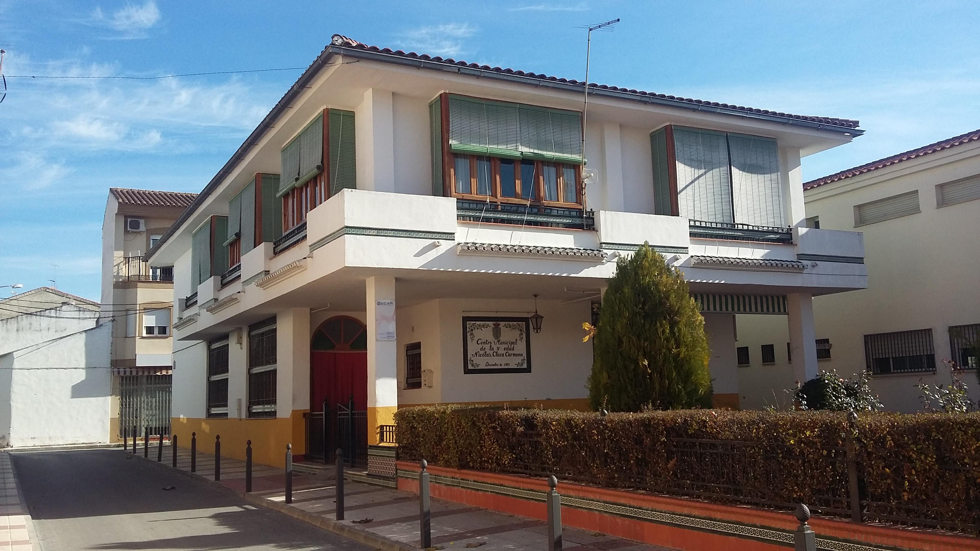 Centro Municipal de Mayores Nicolas Chica. Chauchina