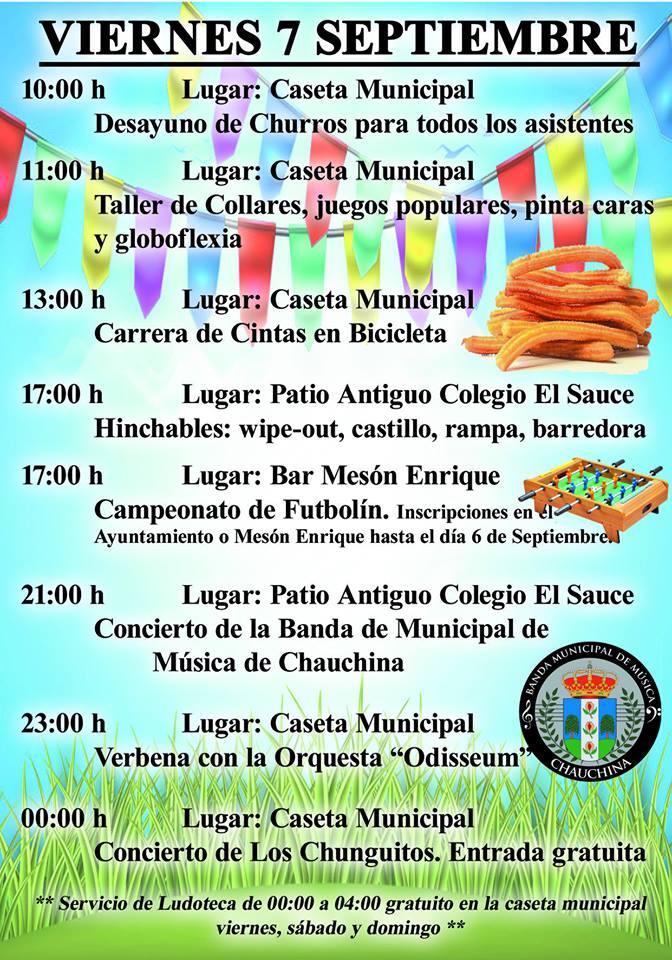 Fiestas Chauchina 2018 08