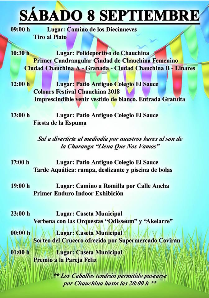 Fiestas Chauchina 2018 09