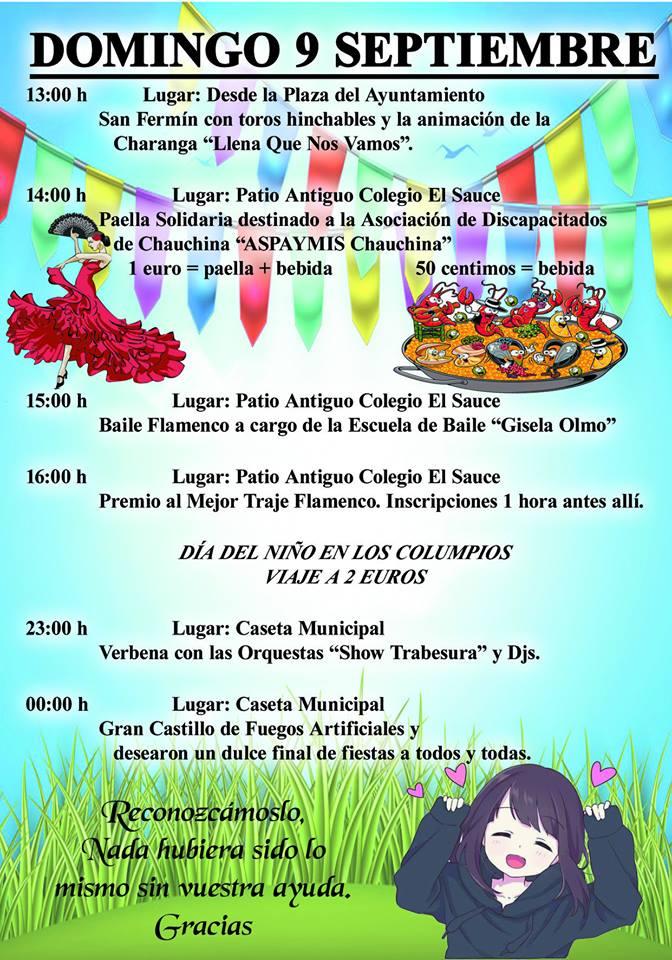 Fiestas Chauchina 2018 10